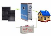 Professional 12V/24V/48V Pure Sine 0.5KW 1KW 2KW 3KW Solar System For Home Use