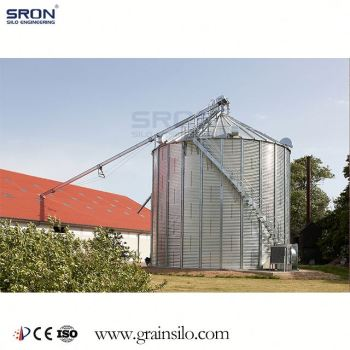 25Ton-50Tons Wheat Storage Conical Bottom Silos For Sale