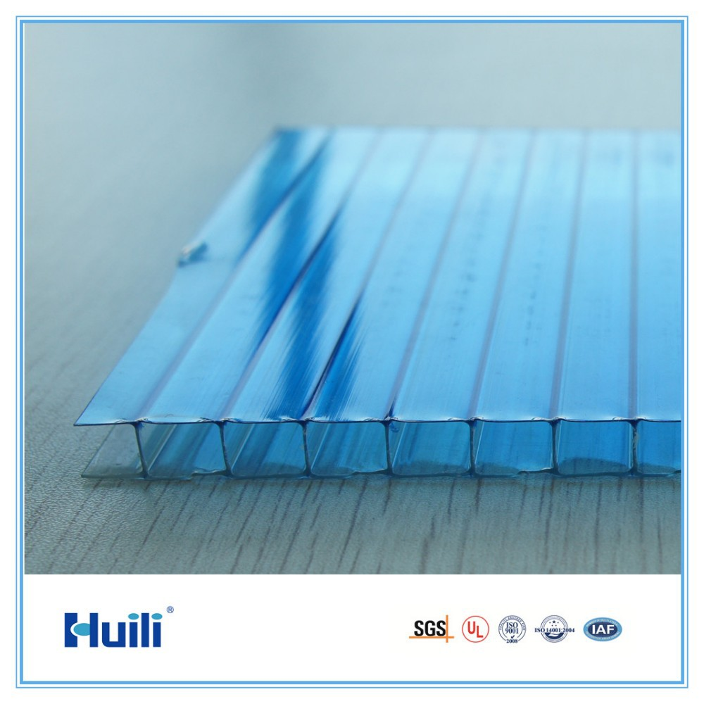 Good U-value 100% Sabic Lexan Raw Material Twinwall Lexan Crystal  Polycarbonate Hollow Sheet For Roofing - Buy Bayer Sunsheet,Pc  Sheet,Polycarbonate