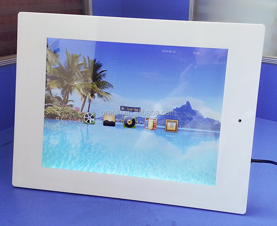 Fine Solar Powered Digital Picture Frame Frieze - Ideas de Marcos ...