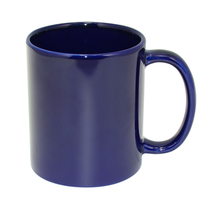 Custom Coffee Mug 11oz Sublimation Blank Full Color Mugs Blue