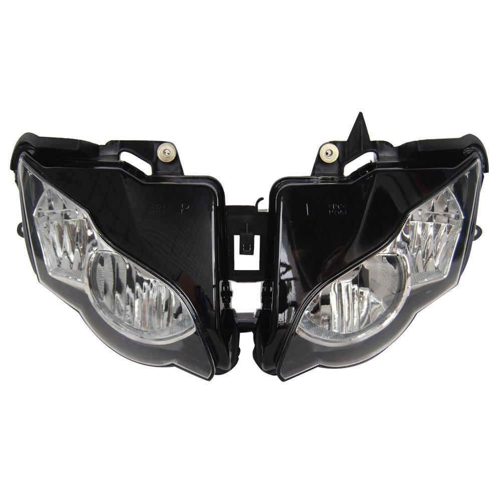 Get Quotations Mallofusa Motorcycle Front Headlight Headlamp Replacement Fits Honda Cbr 1000rr 2008 2009 2010 2017