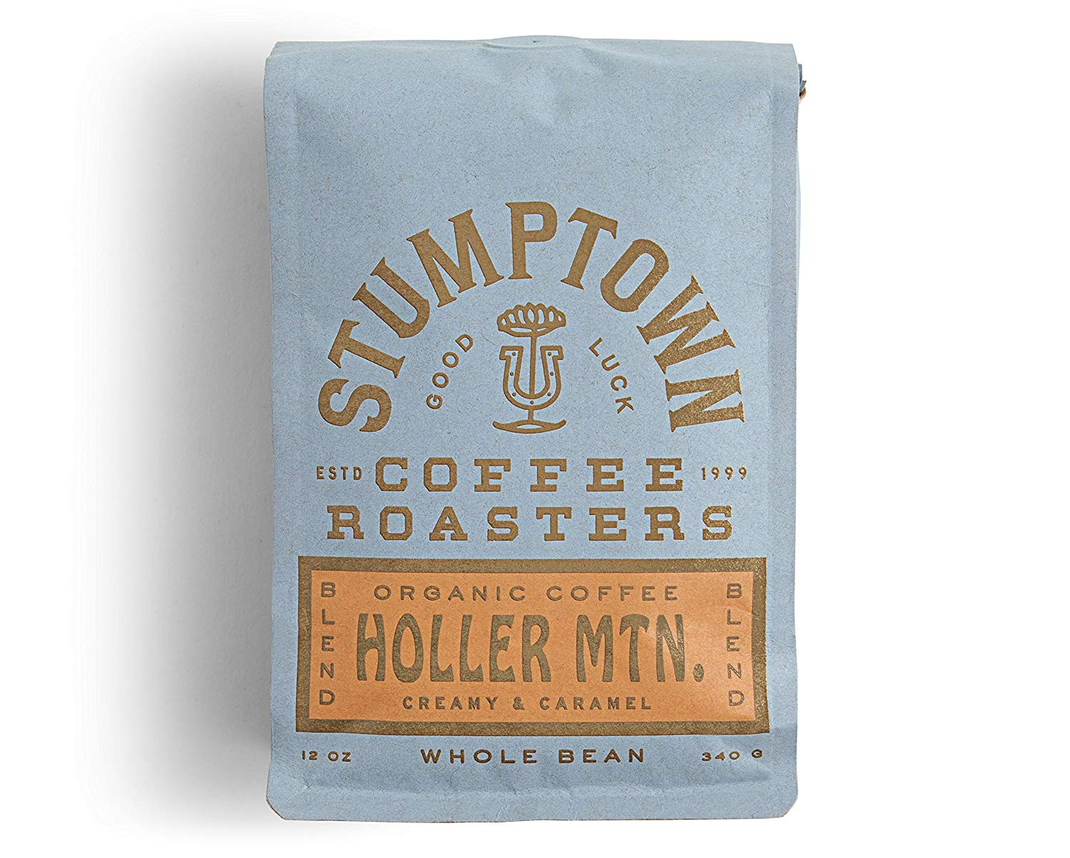 Stumptown Coffee Roasters, Whole Bean Organic Coffee, Holler Mountain, 12 Ounce. Full-Bodied Signaure Blend, Latin American African Coffee Blend, Perfect for Espresso, Drip or French Press Brewing