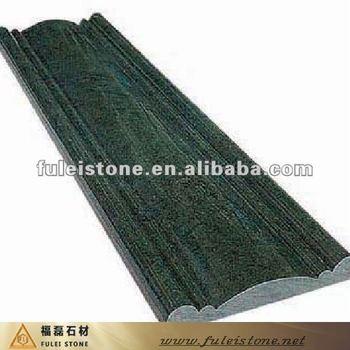 Green Granite Flooring Border Design
