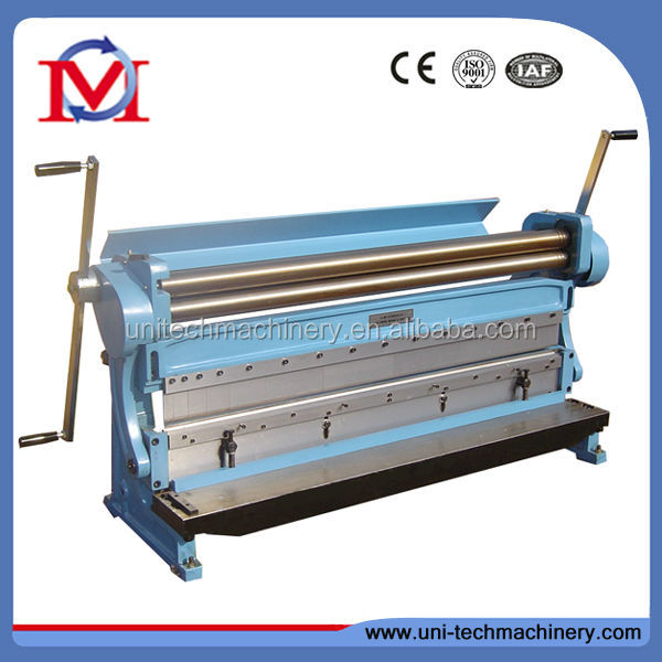 Industry Manual Combination 3-in-1 Machine of Shearing Bending & Rolling Machine for sale