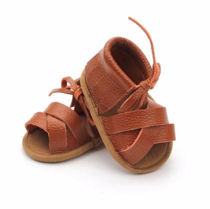 Оптовая продажа, Модные Меховые детские кожаные сандалии, обувь для девочек, детские сандалии