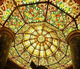 tiffany glass dome for project, hotel ,church
