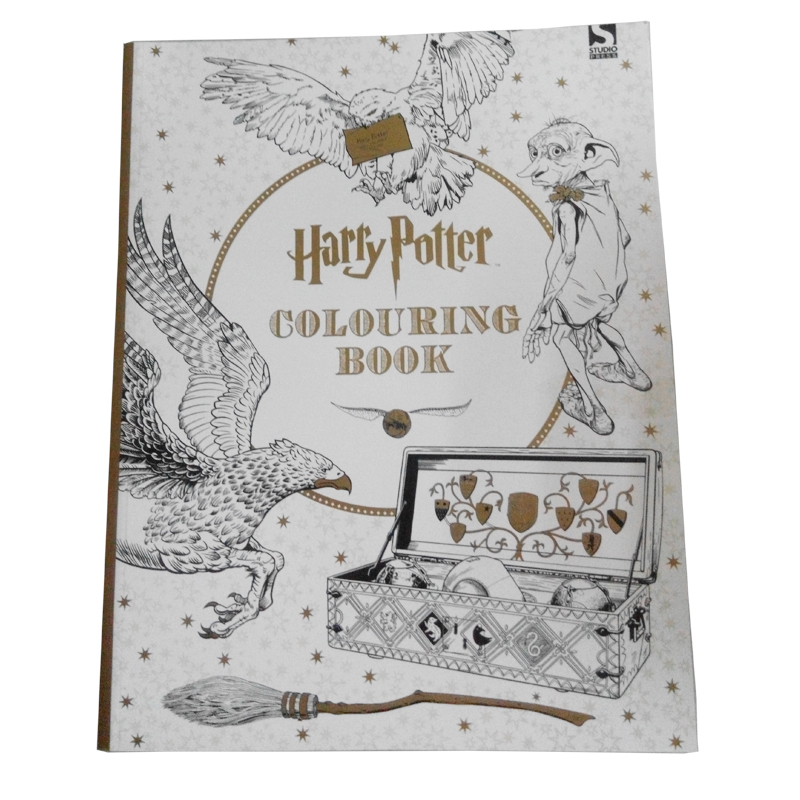 2017 best selling hand painting children or adult coloring <strong>Book</strong>/ harry potter