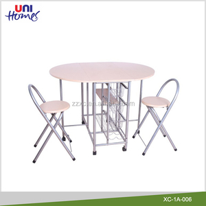 Metal Folding Butterfly Table And Chairs