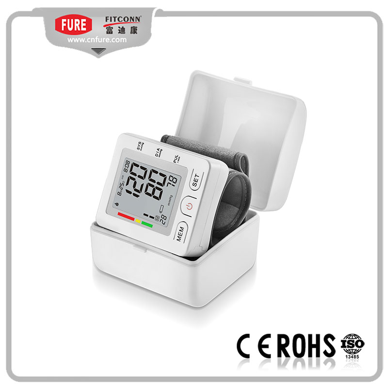 Digital Wrist type electric blood pressure meter/electric blood pressure monitor