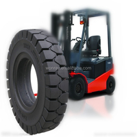 Bottom factory price durable forklift tire 250-15, off road truck tyres with spilit piece rim