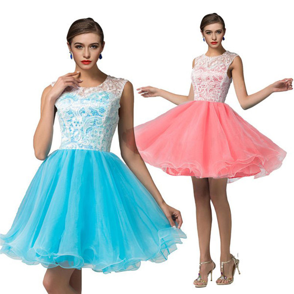 ROPALIA Women Sexy Lace Organza Tutu Dress Short Mini Dress