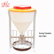 High quality swing dry wet stainless steel plastic automatic feeder for pigs