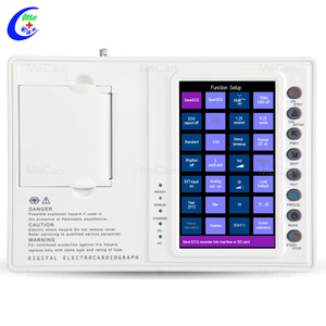 Hospital 3 Channels Touchscreen Portable ECG Machine