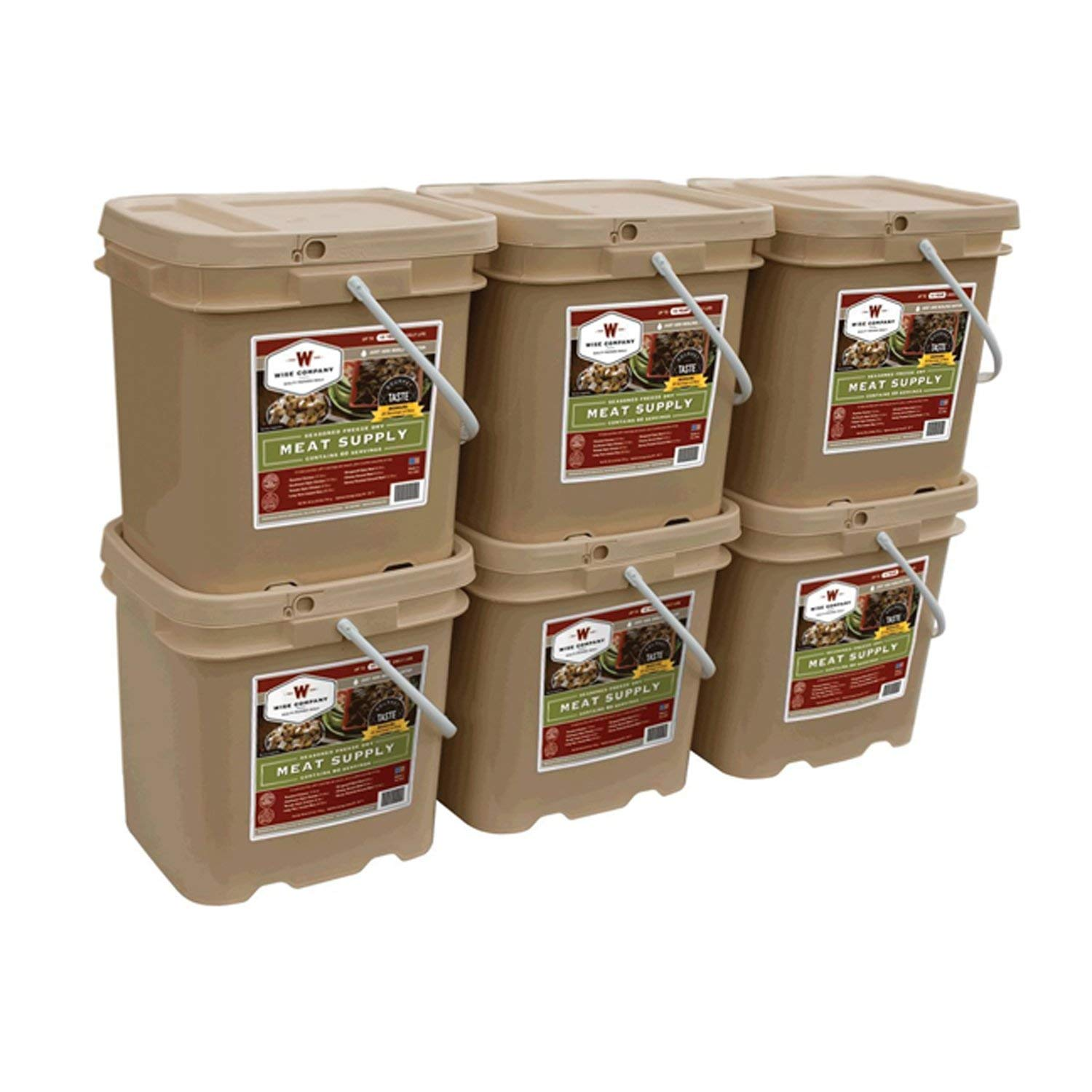 Wise Foods Storage Meat Bucket - 360 Servings
