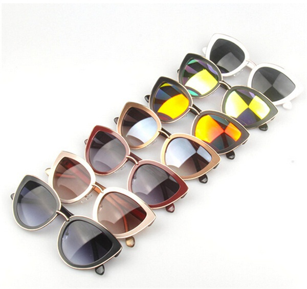 Summer Style Cat Eye Sunglasses Women Eyewear Sunglasses Super Round Circle Cat Eye Sunglasses