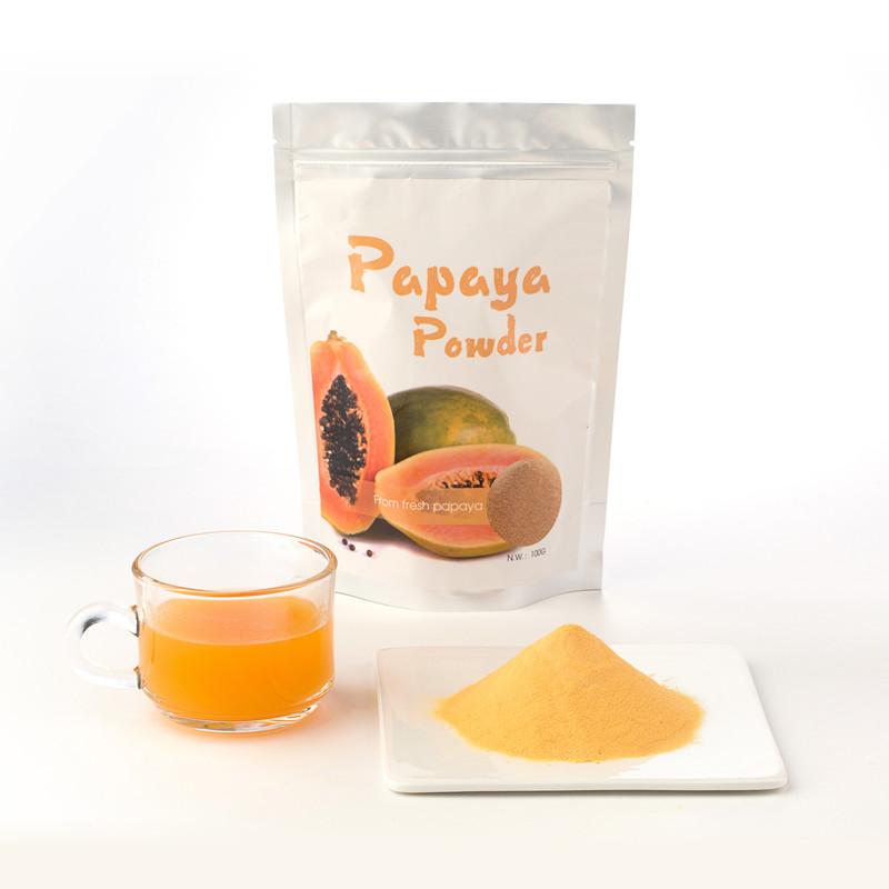 dried papaya leaves as organic mulch