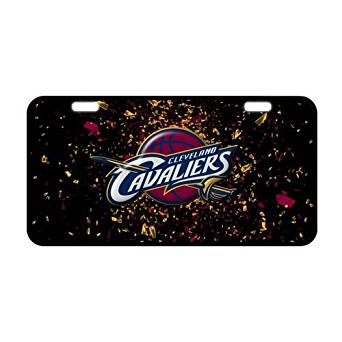 Car Automotive License Plate - Cleveland Cavaliers Custom Metal License Plate For Car Metal License Plate For Car (New) - 11.8 X 6.1
