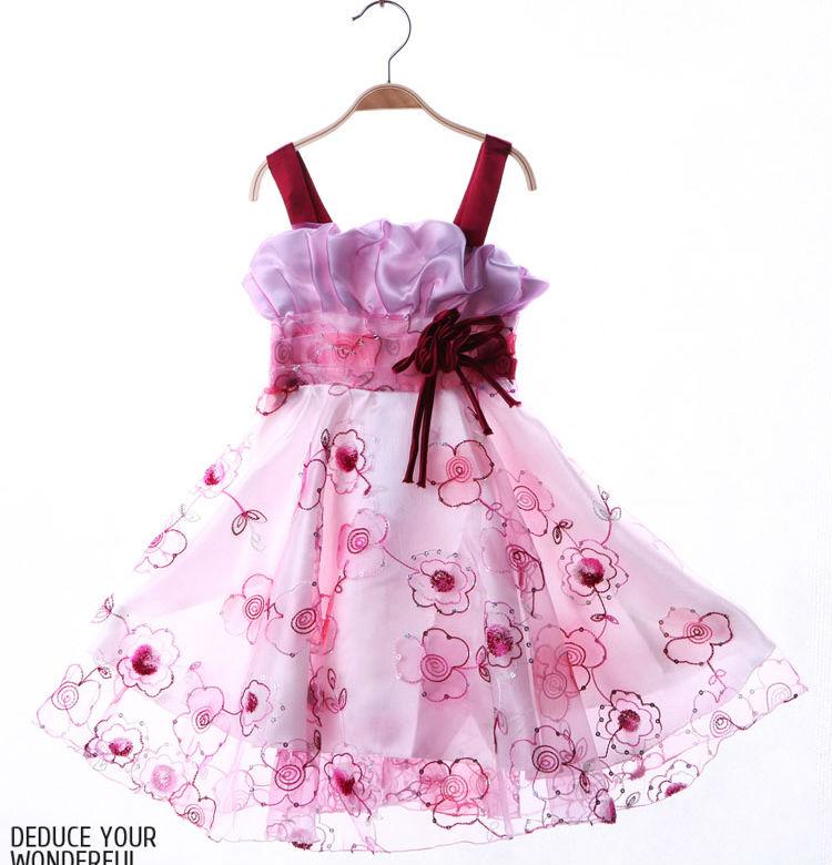 Venta al por mayor vestido niña 2014-Compre online los mejores ...