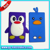 New animal silicon penguin case for ipod nano 7