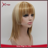 Costomized Fashion Style Various Color Full Lace Synthetic Hair Wig