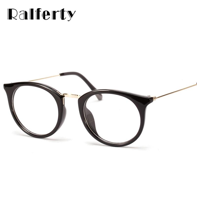bf3862cc419 Mens Designer Round Frame Glasses