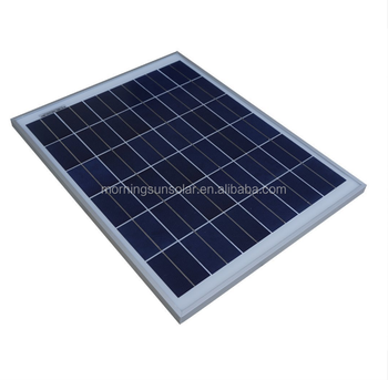High efficiency 12V 10W 20W 30W 40W 50W Polycrystalline photovoltaic solar panel for home energy solar system