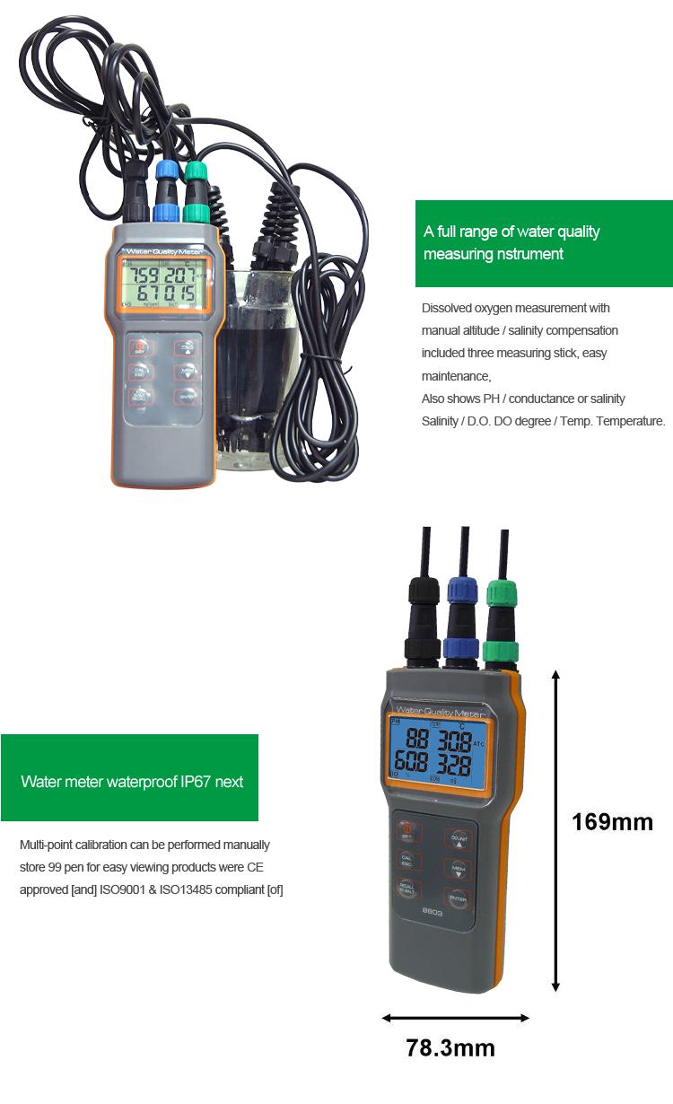 Máy phân tích chất lượng nước PH Máy đo ph ORP TDS Máy đo muối PH .png