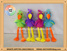 China Manufacturers Wholesale Stuffed Animal Customized long leg birds