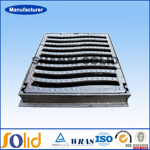 Ductile iron EN124 gully grating