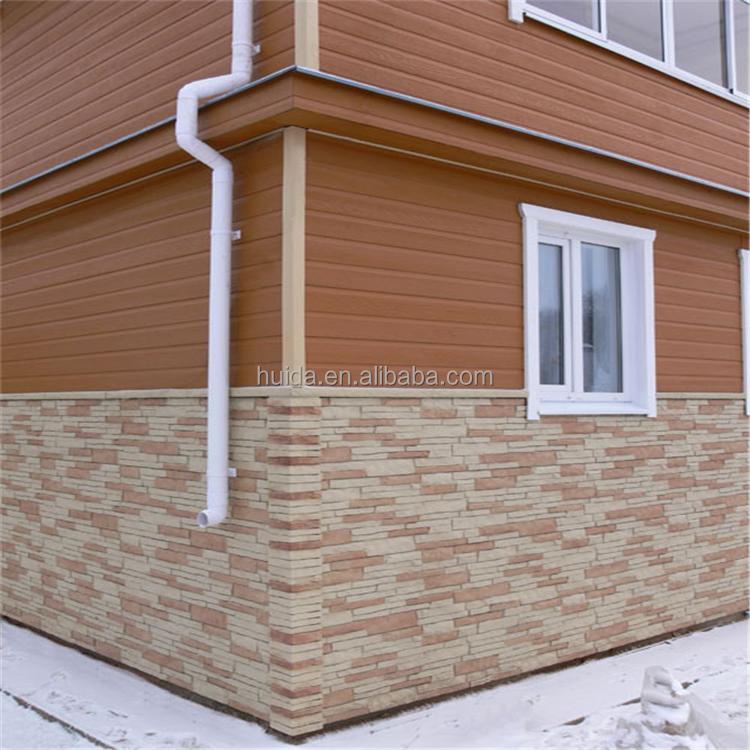 Revestimiento exterior decorativa imitaci n ladrillo - Revestimiento de paredes imitacion piedra ...