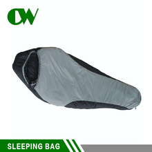 Lower price indoor adult cotton fabric compact wholesale outdoor lightweight human camping mummy sleeping bag