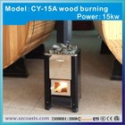 15KW sauna stainless steel intank cast iron wood burning stove for sale