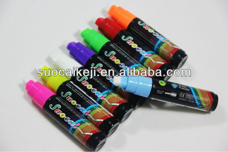 2014 Colorful Highlight & Ballpoint Pen For Promotional Wipe Clean Marker Pen