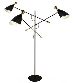 Attractive Floor Lamp Metal Stand Light For Living Room E27 LED Bulb