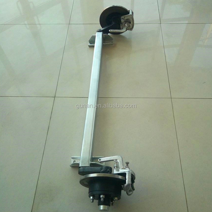 Disc brake rubber torsion Axle