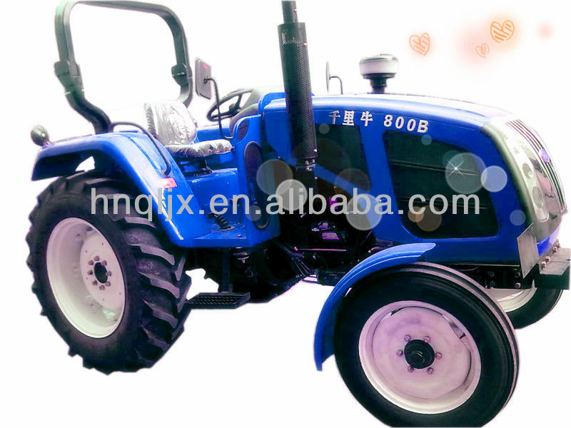 New design famous Chinese tractor brand agricultural tractor--QLN800B