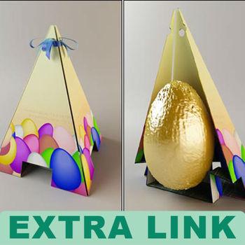 China Supplier Wholesale Custom Logo Paper Cardboard Easter Egg ...