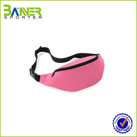 Hot Sell Waterproof Money Waist Bag Running Bum Bag, elegant waist bag for Sports
