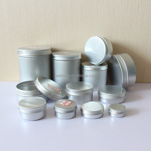 Promotion 5g 10g 15g 20g 25g 30g 50g 60g 80g 100g 150g 200g 250g 300g 500g aluminum tin container for food cosmetic AJ-01A
