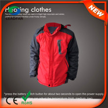 HJ08 7.4V Electric Heated Men Russian Winter Coat