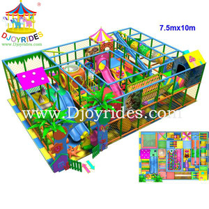 Amusement park used children commercial indoor playground equipment in India for sale