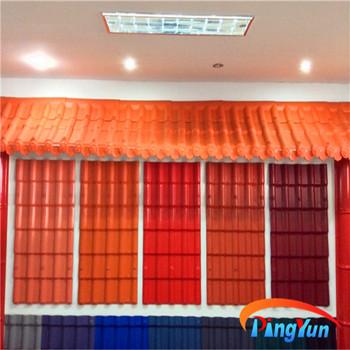 Hot Sale Synthetic Resin Monier Villa Roof Tile Buy