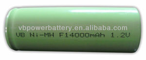NiMH battery F Size 14000 mAh 1.2V NiMH cell