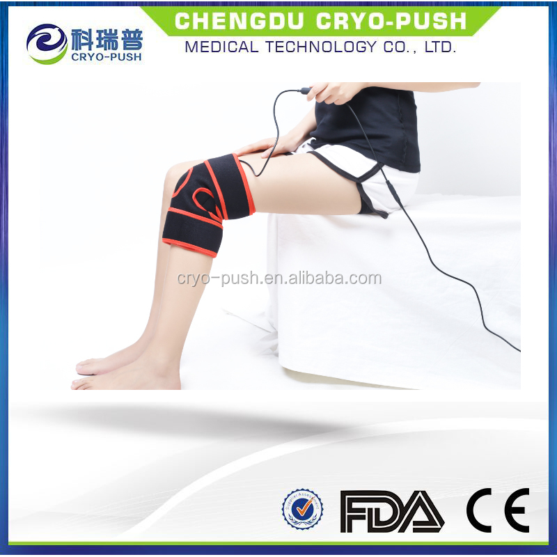 Far infrared body heating pad therapy system for knee pain