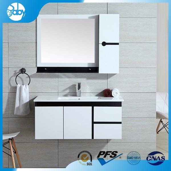 Foshan Factory New Design Pvc Bathroom Cabinet Foshan Factory New