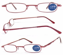 2016 new popular fashion design optical metal reading glasses