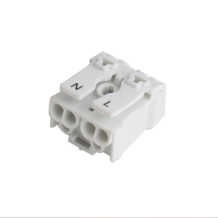 LED lighting terminal block 2P Feed through Terminal Block strip connector 923 terminal