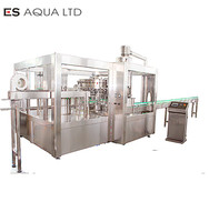 Automatic 3 in 1 Carbonated Soft Drinks Filling Machine/ Plastic Bottle Gas Water Filling Machine/ Equipment/Plant/Line