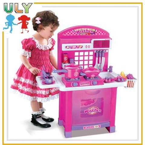 lujos nios juguete juego de cocina para nias con luz y msica buy product on alibabacom